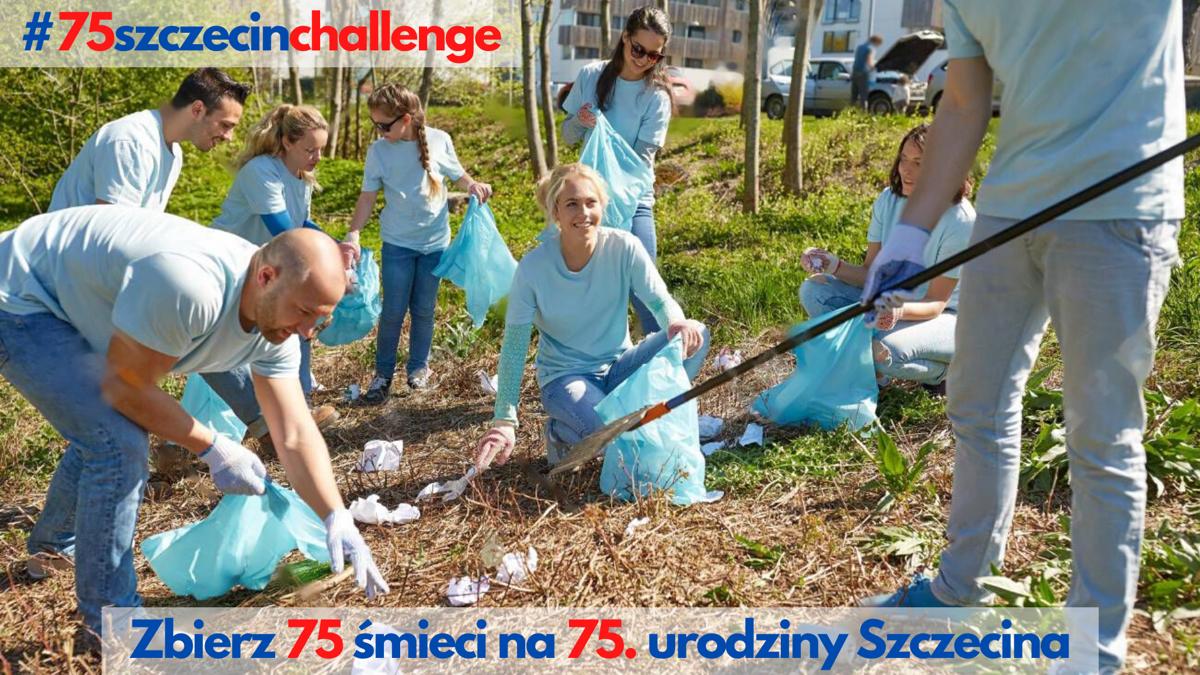 Zbierz 75 śmieci na 75. urodziny Szczecina!