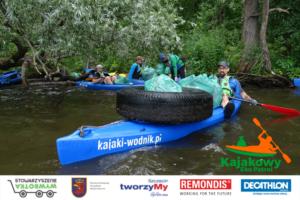 Read more about the article Kajakowy Eko Patrol wyrusza na sprzątanie Skolwina i Polic